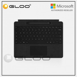 Microsoft Surface Pro X Type Cover with Slim Pen Bundle Black - QSW-00015