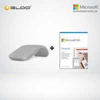 Microsoft Surface Arc Mouse Silver CZV-00005 + 365 Personal (ESD)