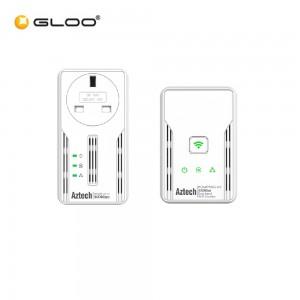 Aztech HL117EP/HL117EW (BGR Twin Aztech 500Mbps Homeplug 765892810235 RP) Starter Kit