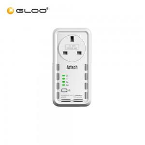 Aztech HL129EP (Single BGR Aztech SGP Smartlink Home Plug AV2 1200Mbps 765892810280 RP)