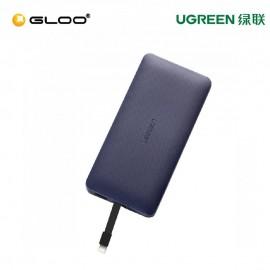 Ugreen 10000Mah MFI Power Bank (Jazz Blue) - 50914
