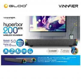 Vinnfier Hyperbar 200BTR Wireless Soundbar