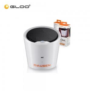 Dausen Pure Decibel Bluetooth Speaker - White (3W) TR-AS058