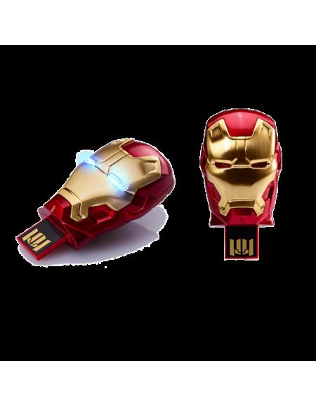 Info Think Iron Man Mark IV (8GB) USB 2.0 Flash Drive Tony Stark New and Fashion