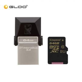 Kingston Data Traveler MicroDUO (64GB) USB 3.0 Micro USB On-The-Go
