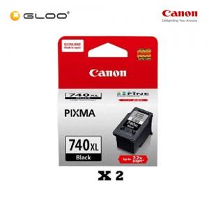 [Set of 2] Canon Fine 11 PG-740XL Ink Cartridges - Black