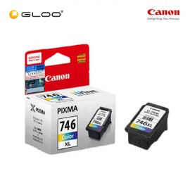 [Set of 2] Canon CL-746XL Ink Cartridge - TriColor