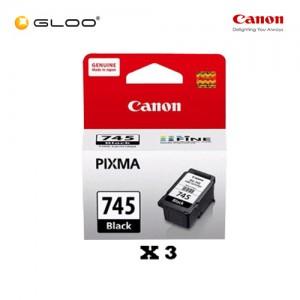 [Set of 3] Canon PG-745 Ink Cartridge - Black
