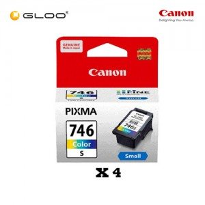 [Set of 4] Canon CL-746S Ink Cartridge - TriColor