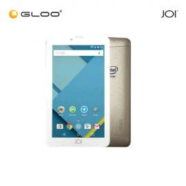 JOI 7 Lite - 3G Pearl  White [FREE Screen Protector + Miracase Blue + OTG Adaptor + Nafumi 12800mAh PowerBank]