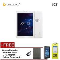 JOI 7 Lite - 3G Pearl White [FREE Screen Protector + Miracase Black + OTG Adaptor + Nafumi 12800mAh PowerBank]