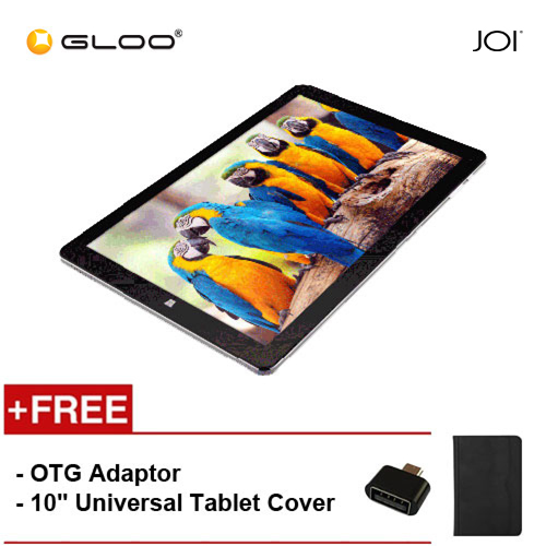 "JOI 10 Flip [FREE OTG adaptor (Provided) + 10"" Universal Tablet Cover]"