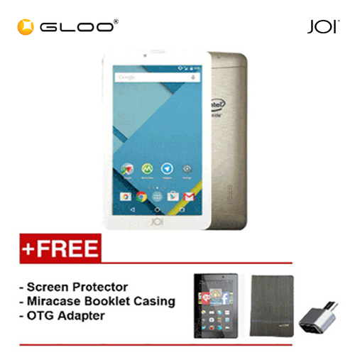 [REFURBISHED] JOI 7 Lite - 3G Pearl Golden PN:AK-M728 {Free Screen Protector + Miracase- Black + OTG Adapter}