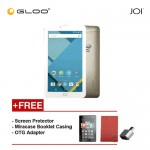 [REFURBISHED] JOI 7 Lite - 3G Pearl Golden PN:AK-M728 {Free Screen Protector + Miracase- Red + OTG Adapter}