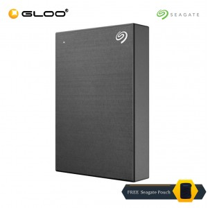Seagate Backup Plus Portable Drive Black 4TB - STHP4000400 FREE Seagate Pouch