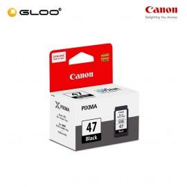 Canon PG-47 Black Ink Cartridge - Canon Pixma E 400 / 410 / 460 /  470 / 480 / 4270 / 3170 / 3370
