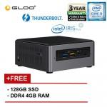 Intel BOXNUC8i3BEH3 i3/4G 128 SSD 3.00GHz~3.60GHz Dual-Core Mini PC