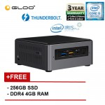 Intel BOXNUC8i3BEH3 i3/4G 256 SSD 3.00GHz~3.60GHz Dual-Core Mini PC