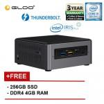 Intel BOXNUC8i5BEH3 i5/4G 256 SSD 2.30GHz~3.80GHz Quad-Core Mini PC