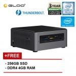 Intel BLKNUC7i5DNH3E i5/4G 256 SSD 2.60GHz~3.50GHz Quad-Core Mini PC (Longer Life Usage than Normal NUC)