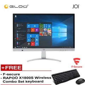 JOI AIO 100 {Free Rapoo X1800S Wireless Combo Set Keyboard + F-secure}