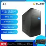 JOI PC 226 (Pentium G6400/4GB RAM/240GB SSD/W10Pro) Free Combo Wired USB Keyboard+Mouse