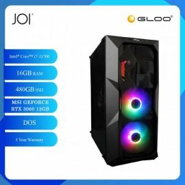 JOI PC 7170 (i7-11700/16GB/480GB SSD/RTX 3060 12GB/DOS)