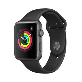 Apple Watch Series 1, 42mm Space Grey Aluminium Case with Black Sport Band MP032TH/A