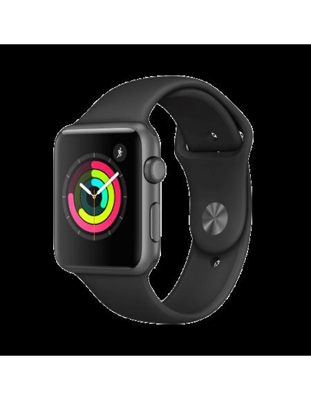 Apple Watch Series 1 Space Grey Aluminium 42mm Black Sport Band
