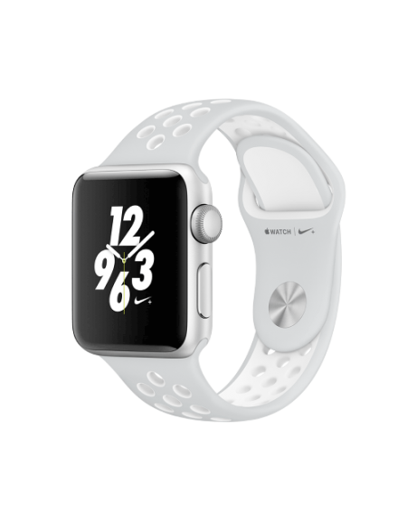 Apple Watch Series 2 Nike+ Silver Aluminium Case with Platinum 38mm White Nike Sport Band