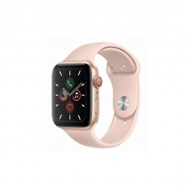 [Pre-Order] Apple Watch Series 5 GPS + Cellular, 44mm Gold Aluminium Case with Pink Sand Sport Band