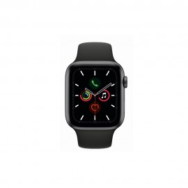 [Pre-Order] Apple Watch Series 5 GPS + Cellular, 44mm Space Grey Aluminium Case with Black Sport Band