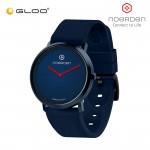 Noerden Life 2 38mm Silicon Hybrid Analog Smart Watch PNW-0400 [Navy Blue Strap + Navy Blue Face]