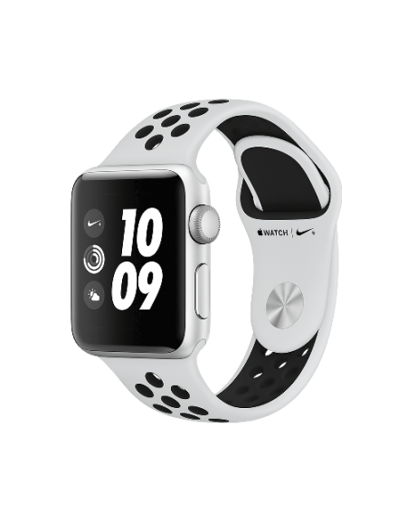 Apple Watch Series 3 Nike+ Silver Aluminium 38mm Pure Platinum/Black Nike Sport Band
