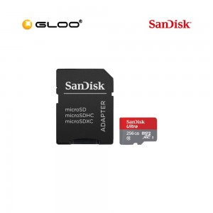 SANDISK SD-SDSQUAR-256G-GN6MA ULTRA MICROSDXC SQUAR 256GB 100MB/S ADPT