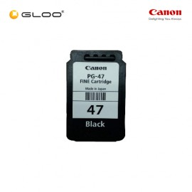 Canon PG-47 Ink Cartridge - Black