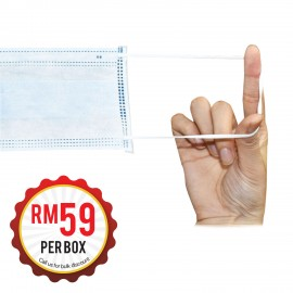 Disposable 3 Layers Face Mask (50 sheets per box) * Ready Stock and Ship from Malaysia *