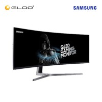 "Samsung 49"" QLED Gaming Monitor CHG90 with Super Ultra-Wide Screen LC49HG90DMEXXM"