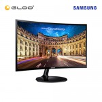 """Samsung 24"""" Curved Monitor with Super Slim and Sleek Design LC24F390FHEXXM"""