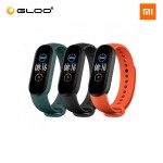 Mi Smart Band 5 Strap (3 pcs pack) - Black + Orange + Green