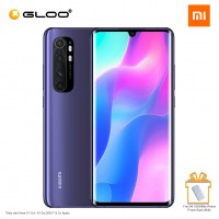 Mi Note 10 Lite Smartphone [64MP Main Camera | 6.47″ | 5260 mAh | Dual Nano-SIM slot | 8GB + 128GB) - Nebula Purple [*Free 10000Mah Redmi Power Bank]