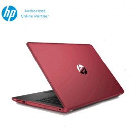 """HP 14-bw054AU Notebook (AMD A6-9220,500GB,4GB,14"""",W10,AMD Radeon R4,Red)"""