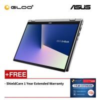 ASUS Zenbook Flip 14 UM462D-AAI501T Notebook (R5-3500U/512GB SSD/8GB/WIN10/Grey) [Free Shieldcare 1 Year Extended Warranty]