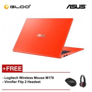 """ASUS Vivobook A512F-LBQ178T (i5-8265,4GB,512GB,NV 2GB,15.6"""",W10,ORG) [FREE] Logitech Wireless Mouse M170 + Vinnfier Flip 2 Headset"""