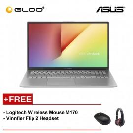 """ASUS A512F-LBQ179T (i5-8265,4GB,512GB,NV 2GB,15.6"""",W10,SIL) [FREE] Logitech Wireless Mouse M170 + Vinnfier Flip 2 Headset"""