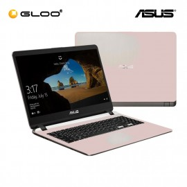 "ASUS A407M-ABV223T Laptop (N4000,4GB,500GB,14"",W10,R.GOLD) [FREE] Logitech Wireless Mouse M170 + Shield Care 1 Year Extended Warranty"