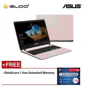 Asus A407M-ABV295T Notebook (N4000/256GB SSD/4GB/WIN10/R.Gold) [FREE] Shieldcare 1 Year Extendeded Warranty