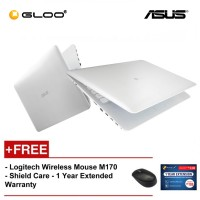 "ASUS X441M-AGA002T Laptop (N4000,4GB,500GB,14"",W10,SIL) [FREE] Logitech Wireless Mouse M170 + Shield Care 1 Year Extended Warranty"