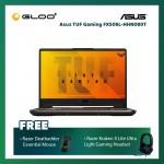 "Asus TUF Gaming FX506L-HHN080T Notebook (i5-10300H,8GB,512GB SSD,GTX1650 4G,15.6""FHD,W10,Black) [FREE] Razer Mouse + Razer Gaming Headset"
