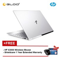 "HP ENVY 13-ad103TU Notebook (Intel i5-8250U,256GB,8GB,13.3"",W10,Intel HD,Silver) [FREE - Shield care 1 Year Extended Warranty and HPx3000 Wireless Mouse]"